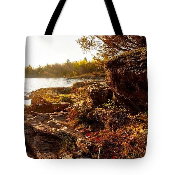 Georgian Bay Sunset Tote Bag