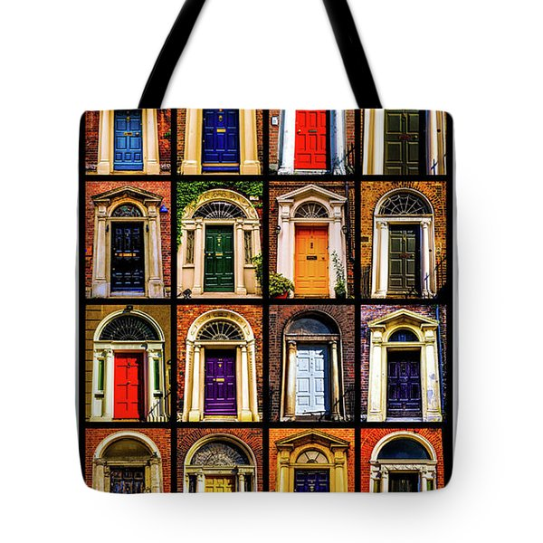Georgian Doors Of Dublin 3 Tote Bag