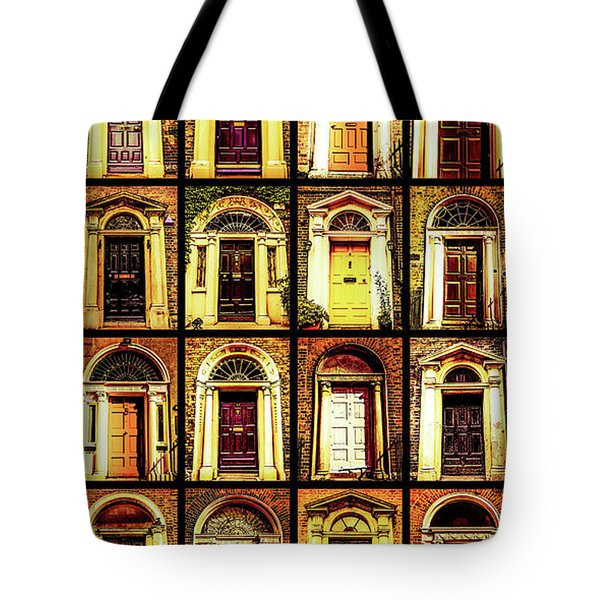 Georgian Doors Of Dublin 4 Tote Bag