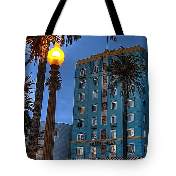 Georgian Hotel Tote Bag