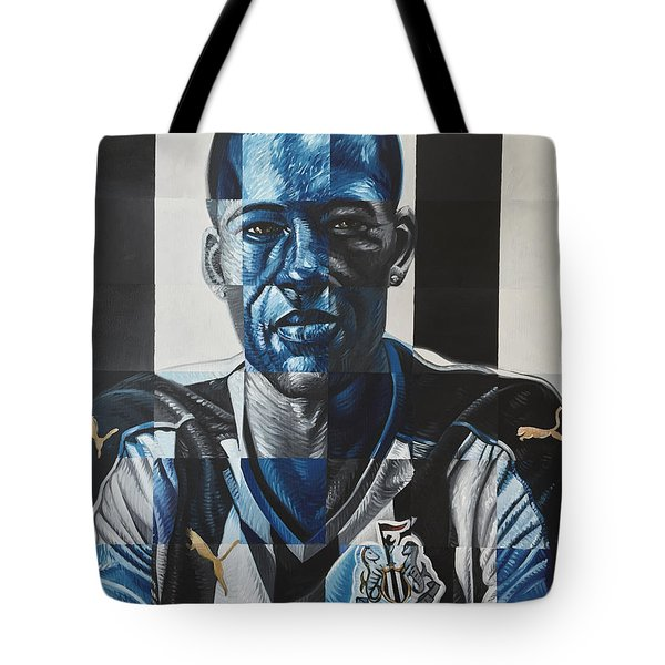 Georginio Wijnaldum Tote Bag by Steve Hunter