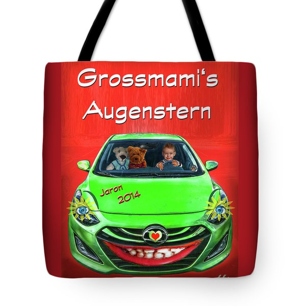 Tote Bag featuring the photograph Teddy Transportation by Hanny Heim