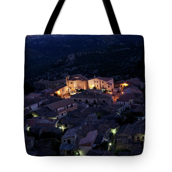 Italy, Calabria,gerace Tote Bag