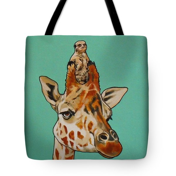 Gerald The Giraffe Tote Bag