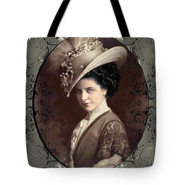 Geraldine Farrar Tote Bag