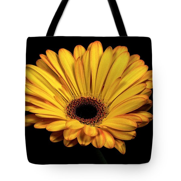 Tote Bag featuring the photograph Gerber Daisy by James Sage