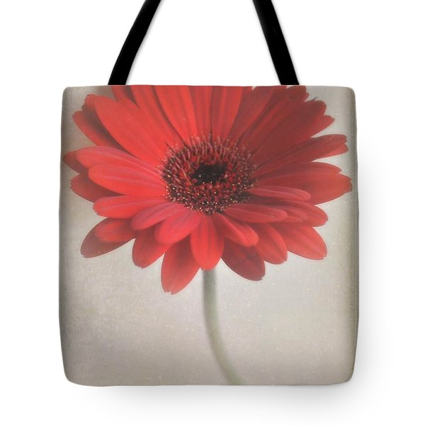 Tote Bag featuring the photograph Gerbera Daisy by Lyn Randle