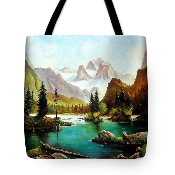 German Alps Tote Bag