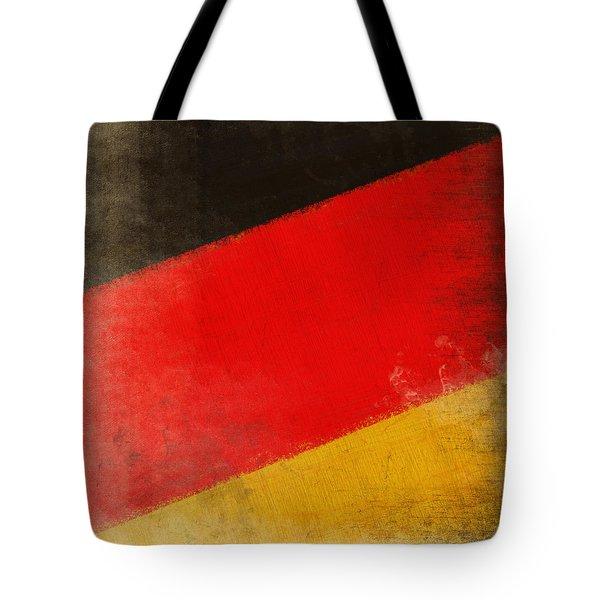 German Flag Tote Bag by Setsiri Silapasuwanchai