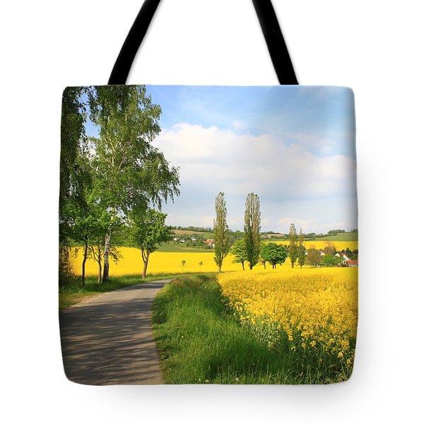 German Landscape Tote Bag