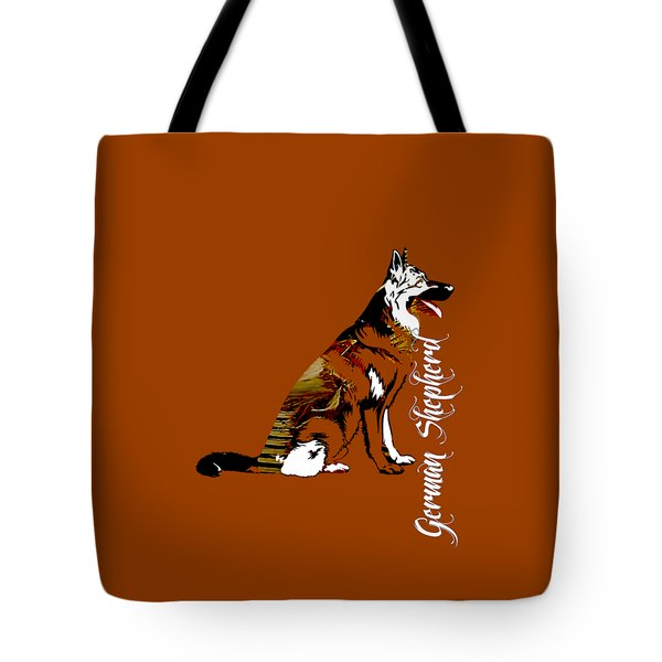 German Sheperd Collection Tote Bag