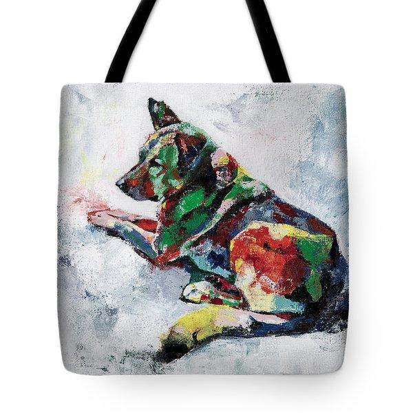 German Shepherd 2 Tote Bag