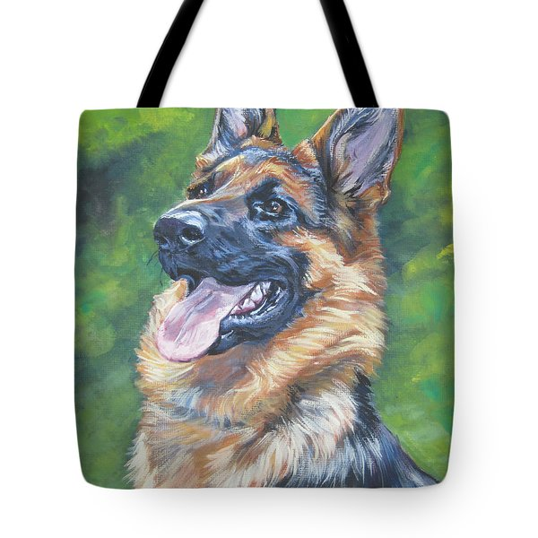 German Shepherd Head Study Tote Bag