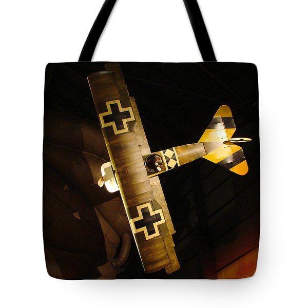 German Wwi Attack Tote Bag by Tommy Anderson