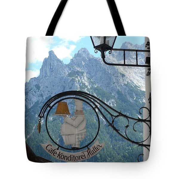 Germany - Cafe Sign Tote Bag