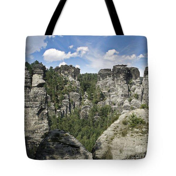 Germany Landscape Tote Bag