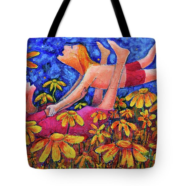 Tote Bag featuring the painting Geronimo by Jeremy Holton