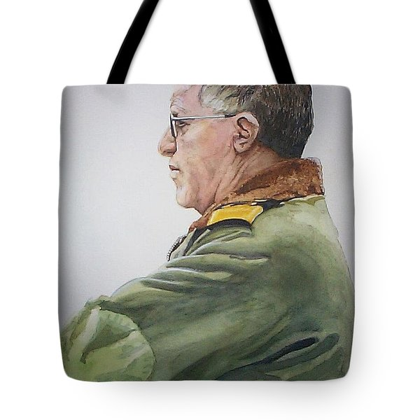 Gert Tote Bag by Tim Johnson