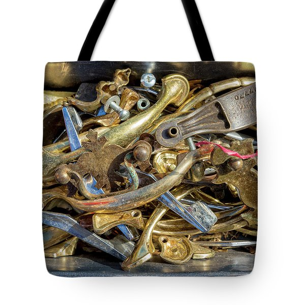 Tote Bag featuring the photograph Get A Handle On It by Christopher Holmes