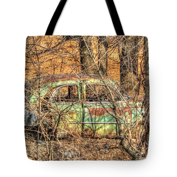 Get Away Car Tote Bag