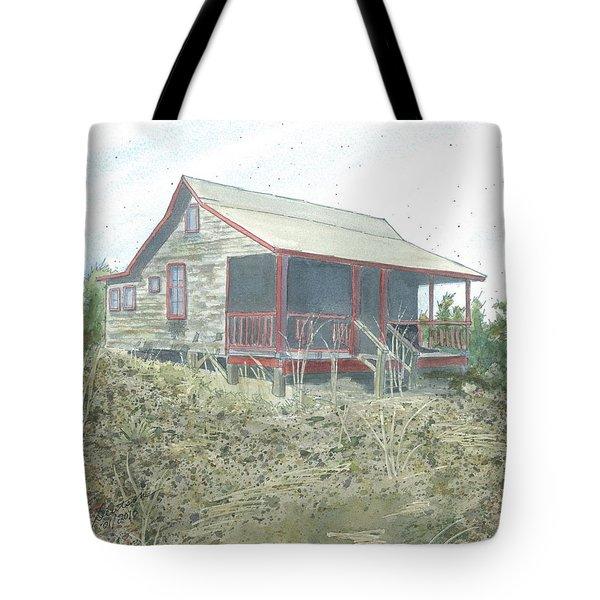 Get Away Cottage Tote Bag