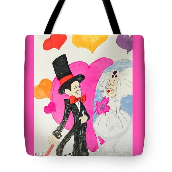 Get Ready To Marry  Tote Bag