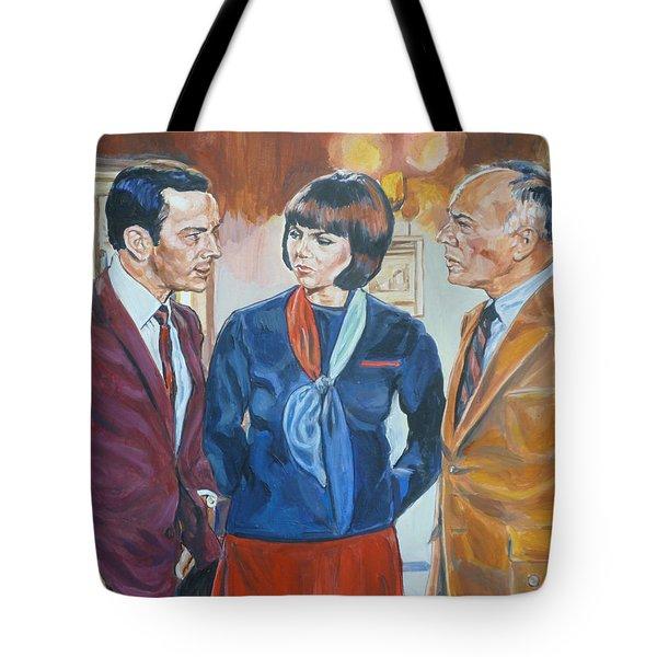 Get Smart Tote Bag by Bryan Bustard