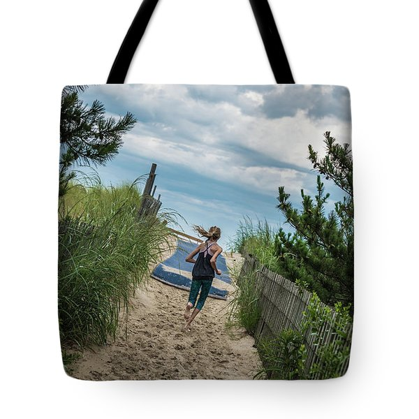 Get To The Beach Tote Bag