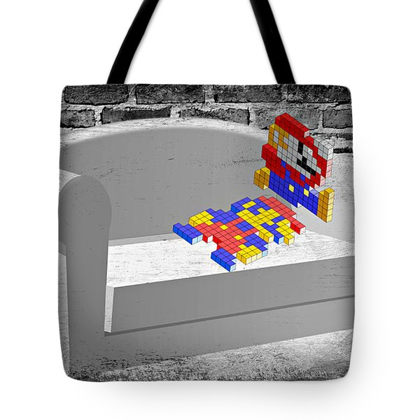 Get Up And Play Tote Bag by Ally White