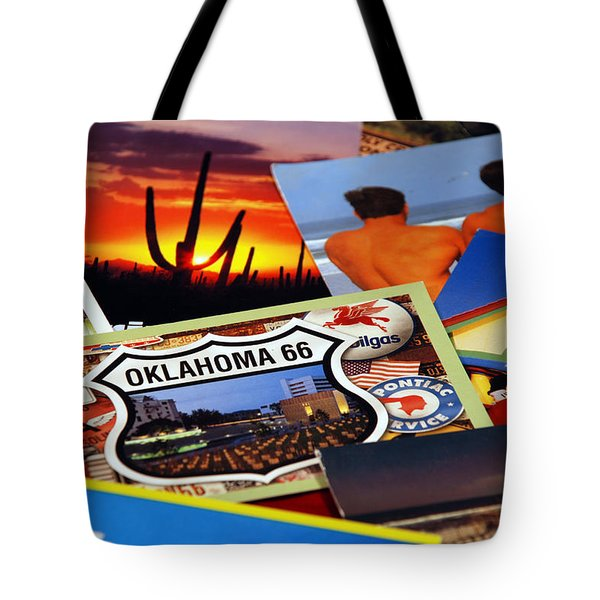 Get Your Kicks... Tote Bag