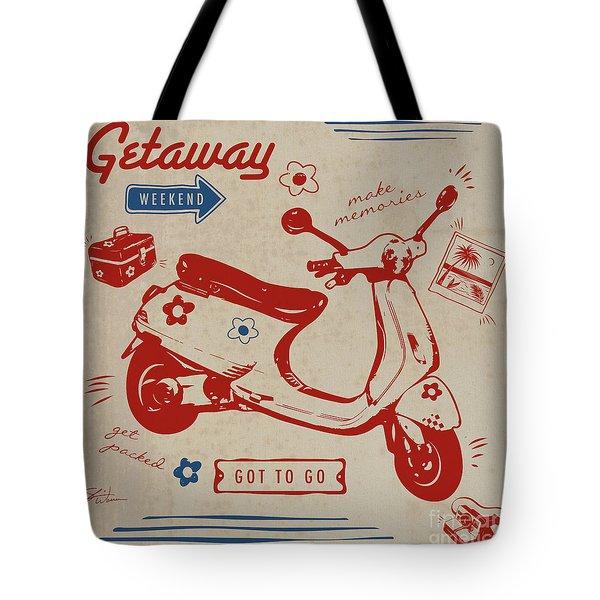 Getaway Weekend Tote Bag