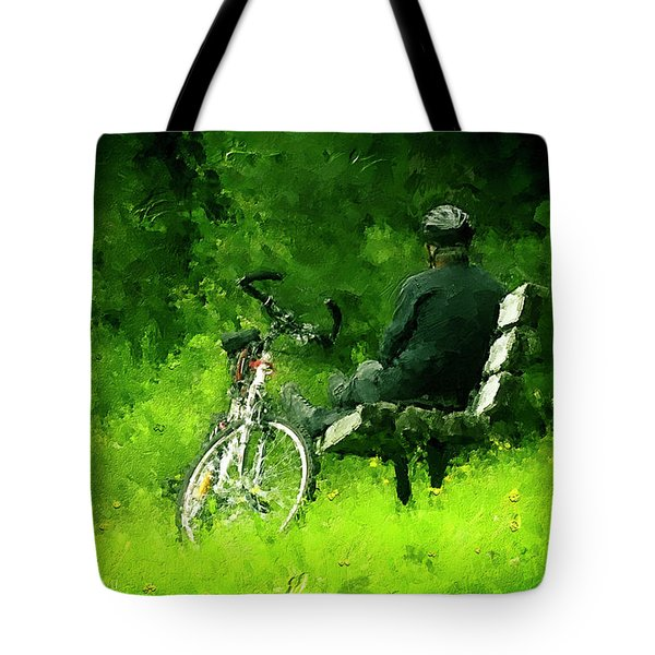 Getting Away From It All Tote Bag by Ken Morris