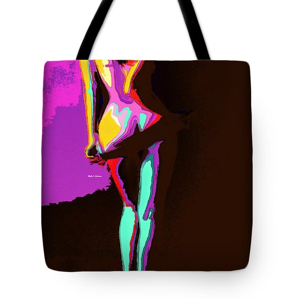 Tote Bag featuring the digital art Getting Comfortable by Rafael Salazar