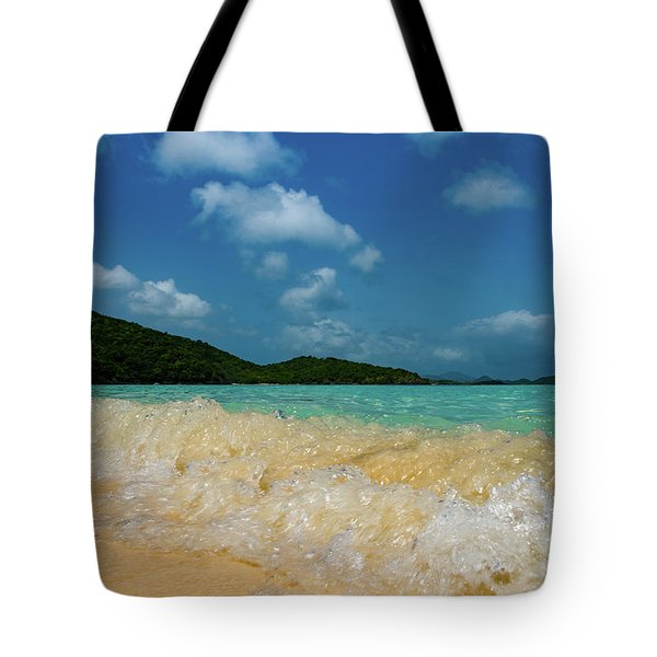 Getting In  Tote Bag
