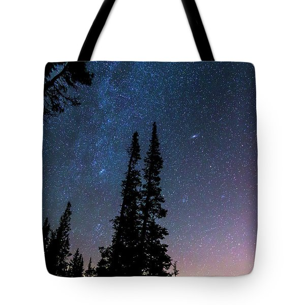 Tote Bag featuring the photograph Getting Lost In A Night Sky by James BO Insogna