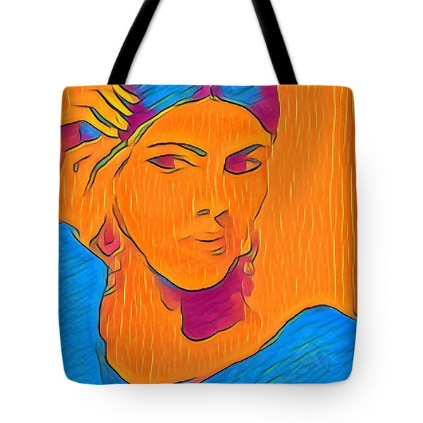 Getting Ready Electric Tote Bag