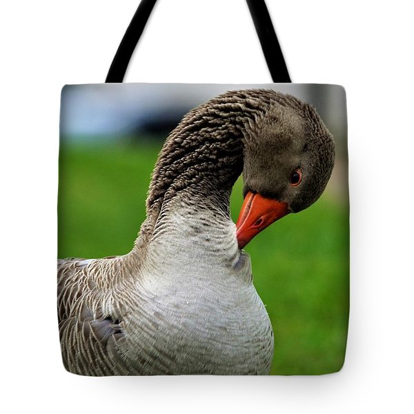 Getting Ready For Bed Tote Bag