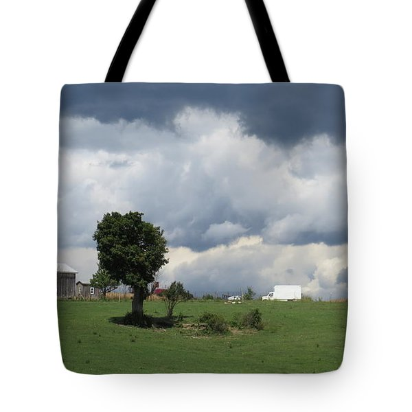 Getting Stormy Tote Bag