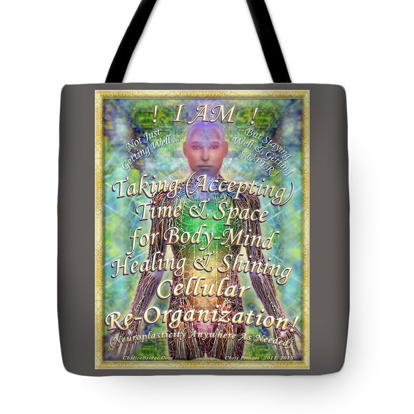 Getting Super Chart For Affirmation Visualization V2 Tote Bag