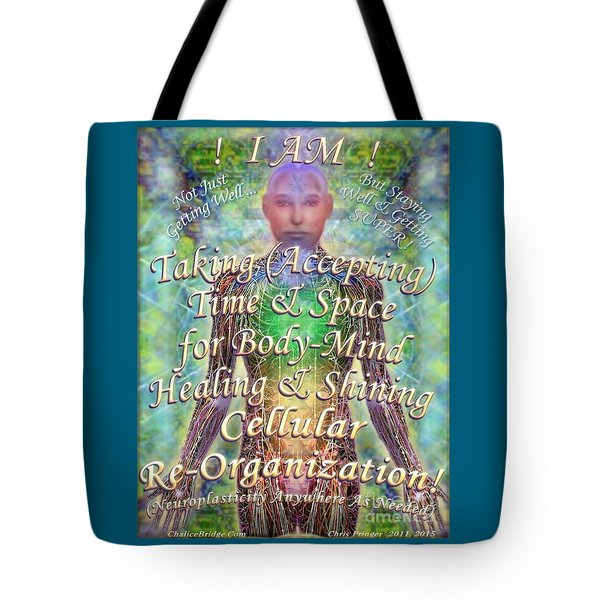 Getting Super Chart For Affirmation Visualization V3u Tote Bag