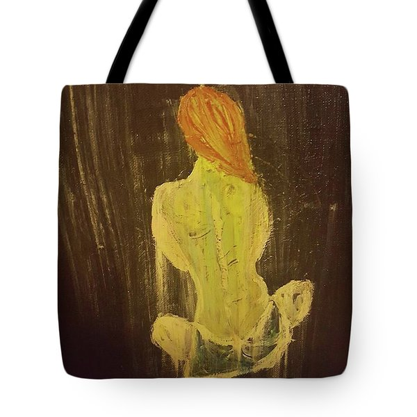 Silence Tote Bag by Jennifer Meckelvaney