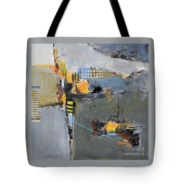 Getting There Tote Bag by Ron Stephens