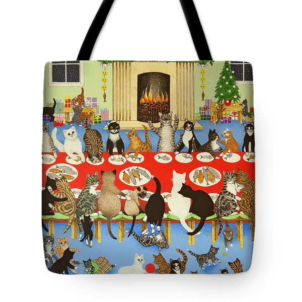 Getting Together Tote Bag