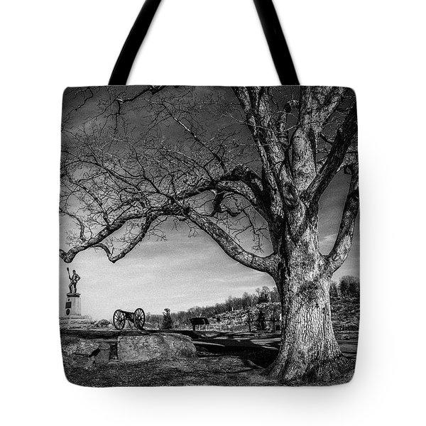 Gettysburg Below Little Round Top Tote Bag