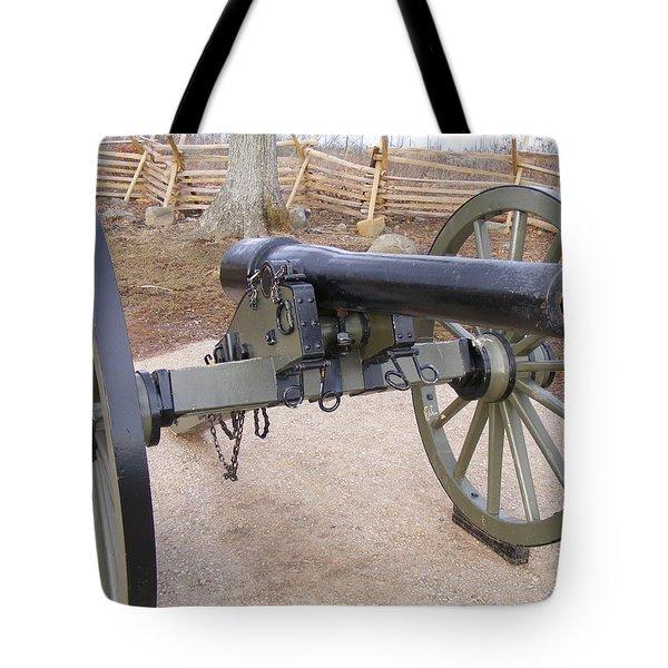 Gettysburg Cannon Tote Bag