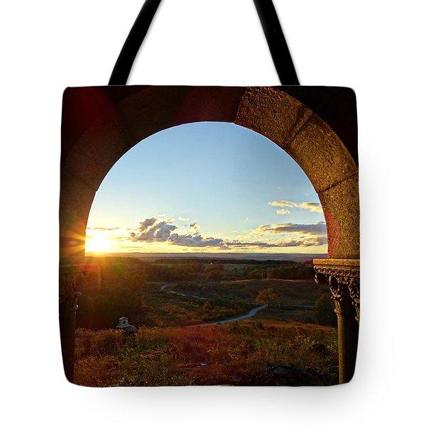 Gettysburg Golden Hour Tote Bag