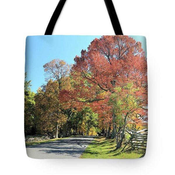 Gettysburg  In The  Fall Tote Bag