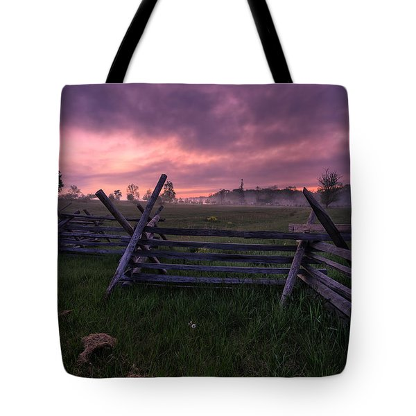 Gettysburg Mornings... Tote Bag
