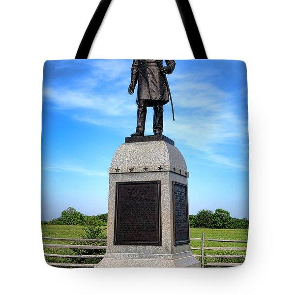 Gettysburg National Park 13th Vermont Infantry Memorial Tote Bag