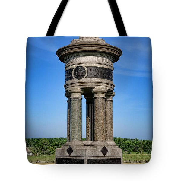 Gettysburg National Park 71st And 72nd New York Infantry Memorial Tote Bag